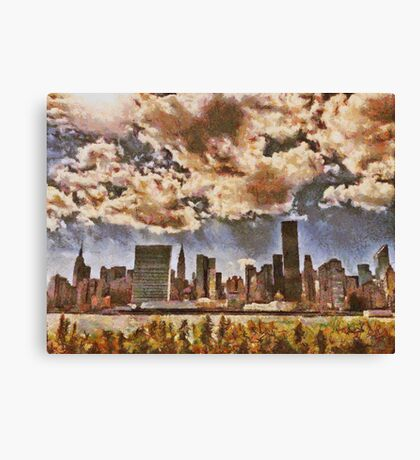 Fall in NYC Canvas Print