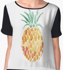 Pineapple Art Chiffon Top