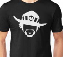 McCree White Unisex T-Shirt