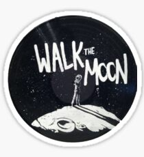 Walk the Moon Record Sticker