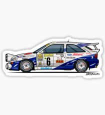 Ford Escort Mk5 RS Cosworth Group A Rally Monte Carlo (1994) Sticker