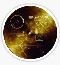 Voyager Golden Record Sticker