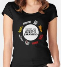 Quentin Tarantino Films Women's Fitted Scoop T-Shirt