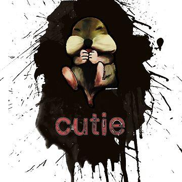 """chipmunk """"cutie"""" by dragonassbabe"""