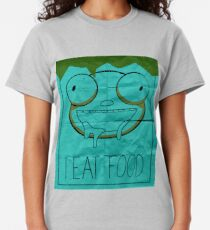 I EAT FOOD (Invader Zim) Classic T-Shirt