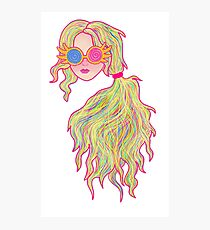 Psychedelic Luna Lovegood Photographic Print