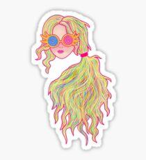 Psychedelic Luna Lovegood Sticker