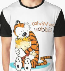 Calvin and hobbes Hugs Graphic T-Shirt