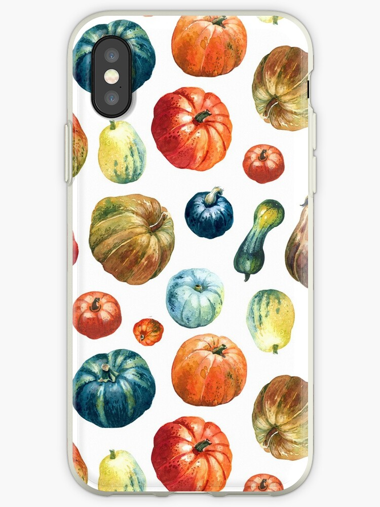 Colourful pumpkins  pattern by Olga Serova