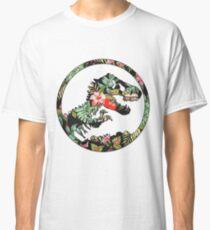 Jurassic Floral 2 | Das verlorene Design Classic T-Shirt