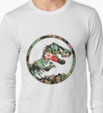 Jurassic Floral 2 | The Lost Design Long Sleeve T-Shirt