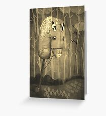 The Hobby Horse.   Greeting Card