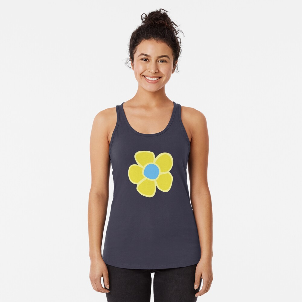 TGAoBaM - Mandy Flower Racerback Tank Top