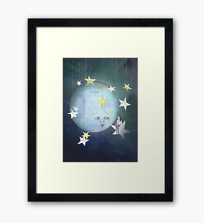 Hanging with the Stars Framed Print