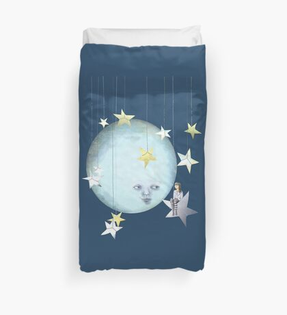 Hanging with the Stars Duvet Cover