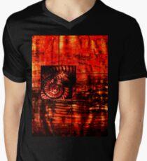 Evolution - Ammonite in Red  T-Shirt