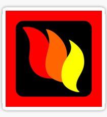 LEGO firefighters logo Sticker