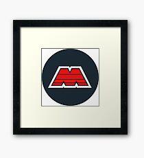 LEGO M-Tron Logo Framed Print