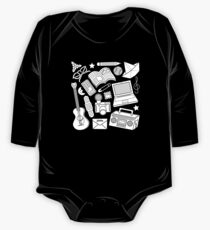 playtime (b&w) 2 One Piece - Long Sleeve