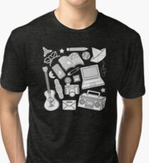 playtime (b&w) 2 Tri-blend T-Shirt