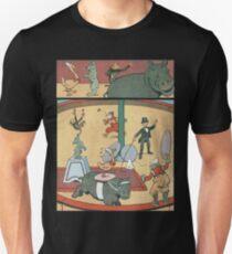 Vintage famous art - Benjamin Rabier - Animal Circus  Unisex T-Shirt
