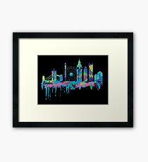 Inky London Skyline Framed Print