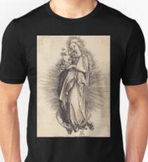 Albrecht Dürer or Durer The Virgin on the Crescent Unisex T-Shirt