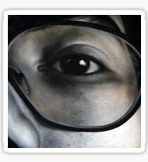 Lens, 100-100cm, 2010, oil on canvas Sticker