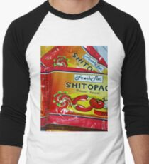Shito.. not shit.... Very Hot pepper Sauce from Ghana, West Africa Men's Baseball ¾ T-Shirt