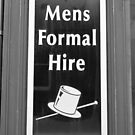 Mens Formal Hire. Rent A Man? by Remo Kurka