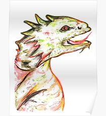 Little Green Dragon Poster