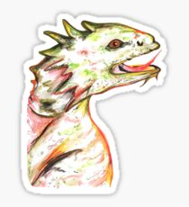 Little Green Dragon Sticker