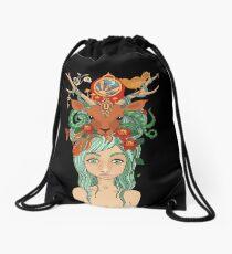 Nature's Girl Drawstring Bag
