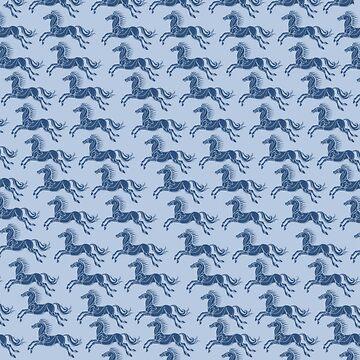 horses of Rohan by Kamikazekatze