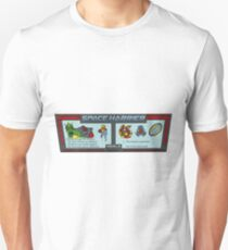 Space Harrier Instructions Unisex T-Shirt