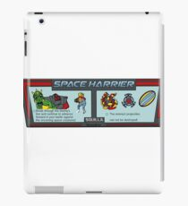 Space Harrier Instructions iPad Case/Skin