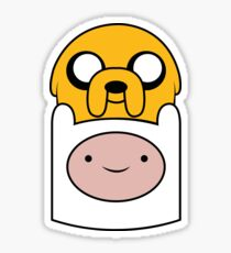 Finn and Jake Sticker