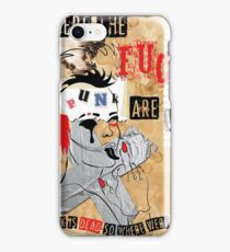 Punk's not dead! iPhone Case/Skin