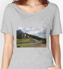 Nordic Ski Centre, Canmore, Alberta Women's Relaxed Fit T-Shirt