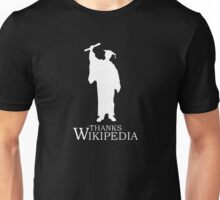 Thanks Wikipedia Unisex T-Shirt