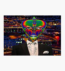 Alien Night Out Photographic Print