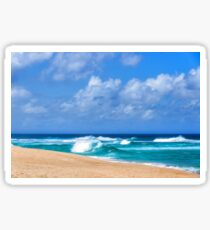 North Shore Turquoise - Impressions of Hawaii  Sticker