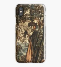 Arthur Rackham  - WAGNER'S RING CYCLE The Valkyrie  iPhone Case/Skin