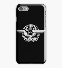 Dr.Teeth and the Electric Mayhem - Logo Design in WHITE iPhone Case/Skin