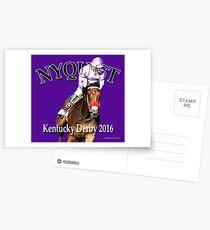 Nyquist Kentucky Derby Winner Postcards