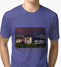 Dingo Flour - Fremantle Western Australia  Tri-blend T-Shirt