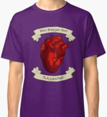 """Never Bring Your Heart To A Witch Fight"" - Regina Mills Classic T-Shirt"