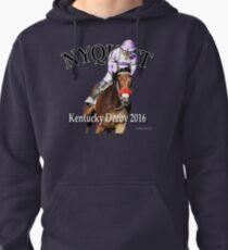 Nyquist Kentucky Derby Winner Pullover Hoodie
