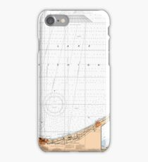 Lake Michigan Map - Chicago Map iPhone Case/Skin