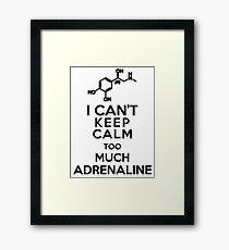 Adrenaline Framed Print